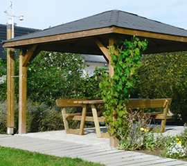 Garages, carports et kiosques Solid